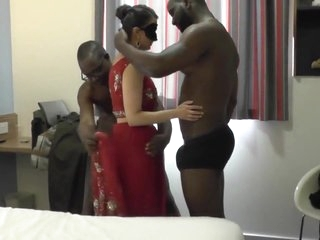 Indian Milf Gets Two BBC To Work With