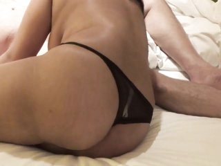 Desi wife blowjob doggy fucck