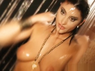 Shower With Sexy Indian MILF From Exotic Asia