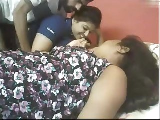 Indian Two Chubby Girls With Lucky Guy  webcam - Wowmoyback