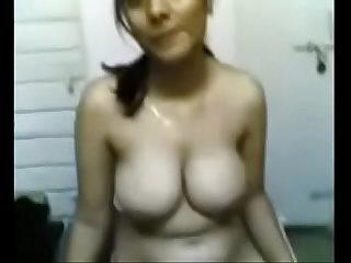 Indian GF removing infront of boyfriend