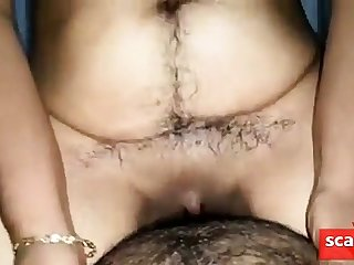 very hairy indian girl