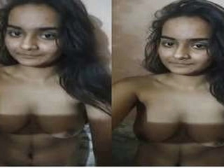 Today Exclusive- Sexy Desi Girl Nude Video hot desi