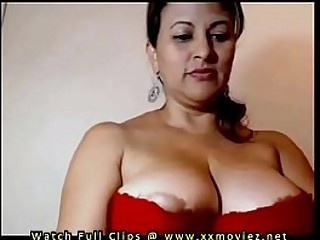 My Aunty Showing her beautiful juicy big boobs