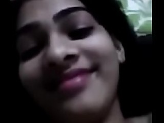 desi teen  reshma playing with her big boobs